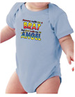 Infant creeper bodysuit One Piece t-shirt Mommy Calls Me Brat But Angel k-3491
