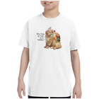 Youth Kids T-shirt When Things Tough I Go To Grandma's k-696