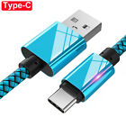 For Samsung S10 S9 Plus USB Type C Charging Data Sync Charger Cable for P20Lite