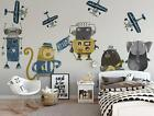 3D Animals Robots 061 Wall Paper Exclusive MXY Wallpaper Mural Decal Indoor AJ