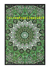 Twin Star Mandala Tapstrey Wall Hanging Ethnic Bedspread Home Decor Bhomeian