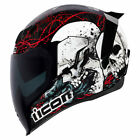 2019 Icon Airflite Full Face DOT Motorcycle Helmet - Pick Size and Graphic Color