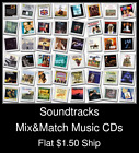 Soundtracks(3) - Mix&Match Music CDs U Pick *NO CASE DISC ONLY*