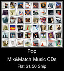 Pop(35) - Mix&Match Music CDs U Pick *NO CASE DISC ONLY*