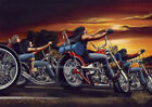 David Mann Ghost Rider Art Silk Poster 8x12 24x36 24x43