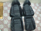1993.5-1996 Toyota Supra MK4 / MKIV Replacement Leather Seat Covers Black