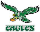 "Philadelphia Eagles Color Die Cut Vinyl Decal Sticker - You Choose Size 2""-34"""
