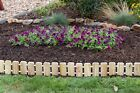 Garden Edging-Pressure Treated Pine NoDig Roll Up Flower Bed Edges-Free Shipping