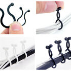 1Set Cable Clip Desktop USB Cable Winder Wire Organizer Cord Clamps Accessories