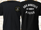 Army SWAT TV Series Los Angeles Police Department LAPD Black T-Shirt S-4XL
