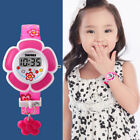 SKMEI Kids LED Electronic Watch Children Girls Cartoon Watches Wristwatches 2018 image