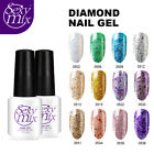 Sexy Mix Diamond Glitter Gel Nail Polish UV Soak Off Manicur