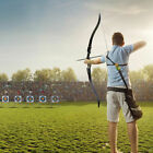 52'' Recurve Bow Right Hand Draw Weight 40/45/50lbs Hunting Outdoor 12 Arrows