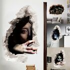 Halloween Decoration 3D Zombie Bat Wall Sticker Decal Removable Room Party Props