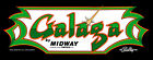 Galaga Arcade Marquee For Reproduction Backlit Sign