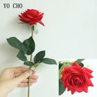 Real Touch Roses Artificial Flowers Silk Peony Bridal Wedding Bouquet Home Decor