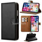 Case For Apple iPhone XS XR XS MAX Luxury Genuine Real Leather Flip Wallet Cover