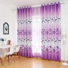 Printed Blackout Curtain Home Living Room Bedroom Windows Decor Drapes Curtain