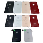 Battery Glass Cover Housing Back Door Replacement iPhone X 8 Plus + Camera Lens