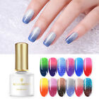 BORN PRETTY Thermal UV Gel Polish Soak Off Sequins Color Changing Nail Art Gel V
