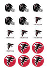 Atlanta Falcons Edible Print Cupcake/Cookie Toppers Frosting Sheets 2 Sizes $13.99 USD on eBay