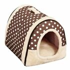 Dog House Nest With Mat Foldable Removable Dog Bed Cat Bed House For Small