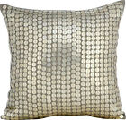 """Grey Decorative Pillow Covers 16""""x16"""", Cotton Linen- Winter Is Coming"""