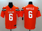 NEW BAKER MAYFIELD CLEVELAND BROWNS SEWN JERSEY ORANGE 40 M 44 L 48 XL