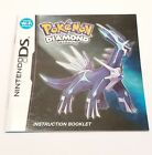 Pokemon Diamond Version Instruction Manual Booklet ONLY!! (DS)