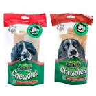 Foldhill CHEWDLES CHIPS Dog Rawhide Hide Beef Original Strips Chews Treats 5pcs