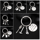 If Dad Can't Fix it No One Can Hand tools Keychain,Daddy KeyChain,gift for dad
