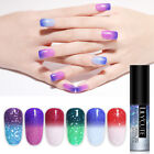 LILYCUTE 5ml Holo Thermal Gel Polish Glitter Soak Off Color Changing UV Nail Gel
