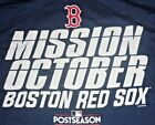Boston Red Sox Mission October MLB Genuine Merchandise Navy T-Shirt XL, 2XL NWT on Ebay