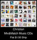 Christian(3) - Mix&Match Music CDs U Pick *NO CASE DISC ONLY*
