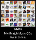 Styles(19) - Mix&Match Music CDs U Pick *NO CASE DISC ONLY*