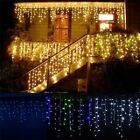 Christmas lights outdoor decoration 5 meter droop 0.3-0.5m led curtain icicle