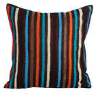Multi-Color Decorative Pillow Covers, Silk fabric 16x16 Inch -Bohemian Style