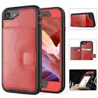 Wallet Leather ID Card Slate Holder Magnetic Protective Case For iPhone 8 Plus