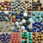 Kyпить DIY Natural Gemstone Round Spacer Beads Jewelry Making 4mm 6mm 8mm10mm Wholesale на еВаy.соm