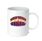 Coffee Cup Mug Travel 11 15 oz Your Name World's Greatest Best Abigail
