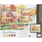 """Paint Works Paint By Number Kit 16""""X20""""-Friends Of Autumn"""