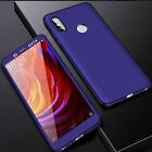360° Full Body Case Cover+Tempered Glass Film for Huawei Honor 8 8X/Mate 20 Lite