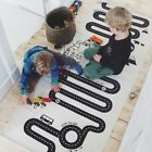 Baby Kids Floor Activity Canvas Play Game Mats Track Runway Crawling Blankets