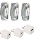 OEM iphone Wall Charger Cube Lightning USB Cable For iPhone 6 PLUS 7 PLUS 8 PLUS