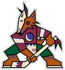 Phoenix Arizona Coyotes NHL Color Die Cut Vinyl Decal Sticker - You Choose Size $5.49 USD on eBay