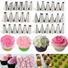 Flower Stainless Steel Icing Piping Nozzle Pastry Cake Cupcake Decor Tips Baking
