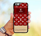 Special Red Supreme2018 Louis Vuitton67 Cover-iPhone 7-7-8-8-X Case Cover