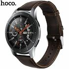HOCO Genuine Leather Bracelet Band for Samsung Galaxy Watch 46mm Strap With Pins