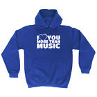 Music Band Hoodie Hoody Funny Novelty hooded Top - More Music
