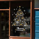 Merry Christmas Gift Wreath Wall Window Stickers Decals Xmas Home Shop Decor Z